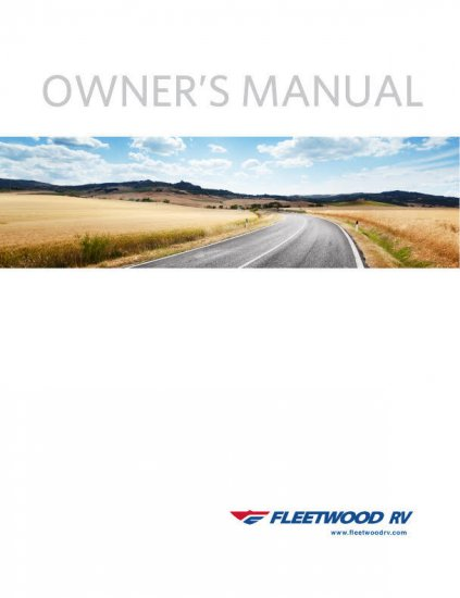96 bounder wiring diagram fleetwood rv owner s manuals  fleetwood rv owner s manuals