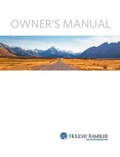 Holiday Rambler Owner Manuals